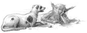 Ilustración de Alan Lee.